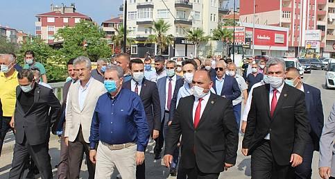 BBP Genel Başkanı Destici, Türkeli'de