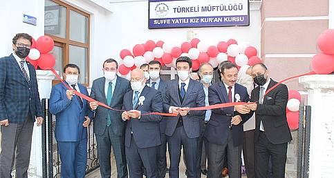 Türkeli Yatılı Hafızlık Kur'an Kursunun açılışı yapıldı